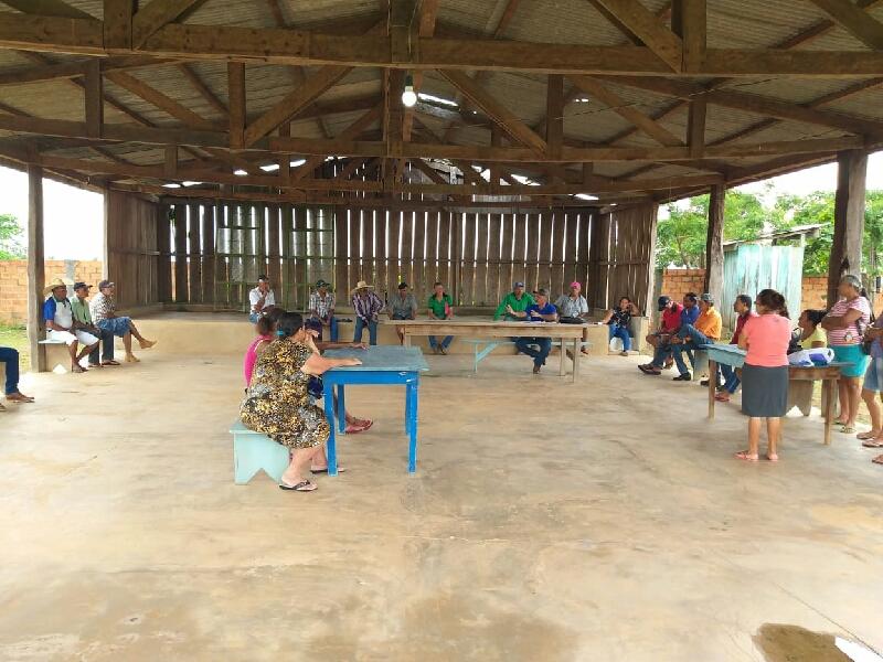 EMATER/RO, promoveu reunião de melhoria de renda familiar em Seringueiras