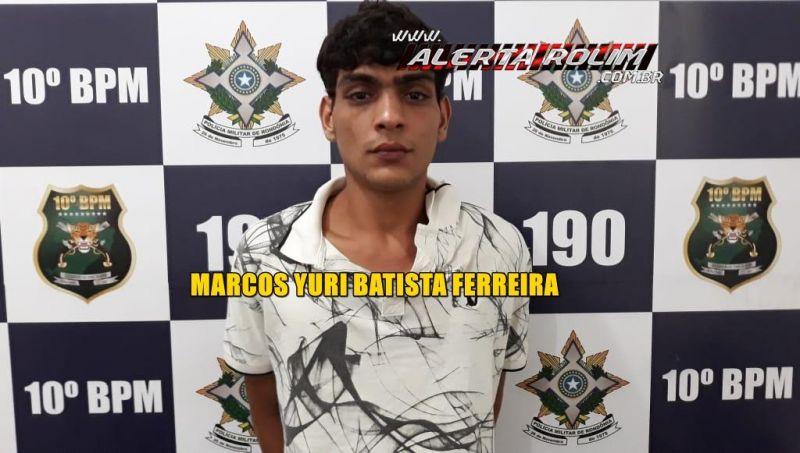 Preso em Rolim de Moura, jovem com mandado de prisão por roubo no município de Costa Marques - Planeta Folha