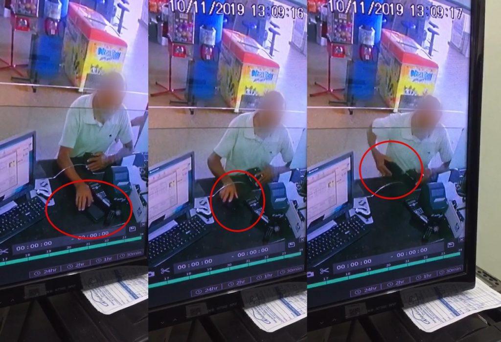 Rolim de Moura | Vídeo de um suposto idoso furtando aparelho celular em rodoviária viraliza - Planeta Folha