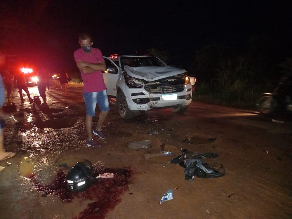 Trágico acidente deixa jovem morto e esposa em estado grave na RO-010 em  Rolim de Moura » Planeta Folha