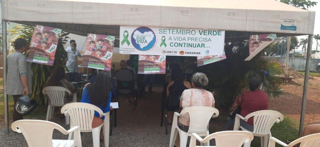 SETEMBRO VERDE: Rolim de Moura recebe ação campanha sobre sensibilização de doação de órgãos 55